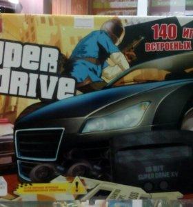 Приставка Sega super drive 11