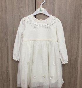 Платье next 9-12мес