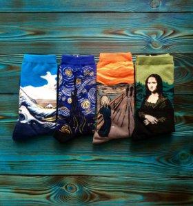 Носки с художественным принтом