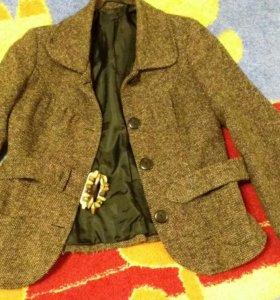 Пальто куртка шерсть