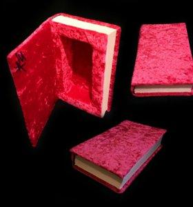 Шкатулка-книга для украшений (под заказ)