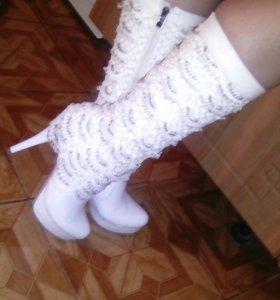 Сапоги-туфли