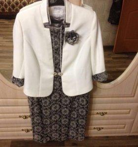 Платье ( двойка) с пиджаком