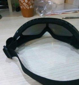 Очки для сноуборда или мопеда или мотоцикла квадро