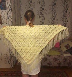 Вязанные шали