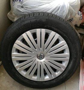 Комплект новых колес в сборе