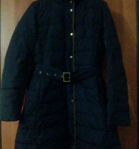 Куртка на зиму б/у р.46-48