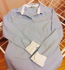 🍒2 рубашки/блузки с рукавом HM🍒