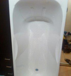 Ванна акриловая новая 170*70см