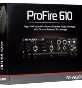 M- audio profire 610