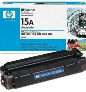 Картриджи HP LaserJet