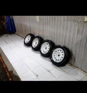 Зимние колеса ВАЗ