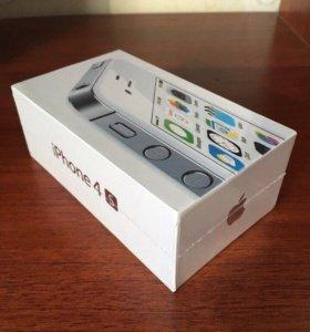Iphone 4s 16gb белый цвет новый Оригинал