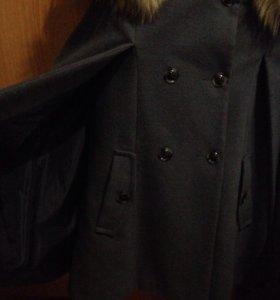 Пальто-пончо