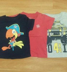 3 футболки+ подарок
