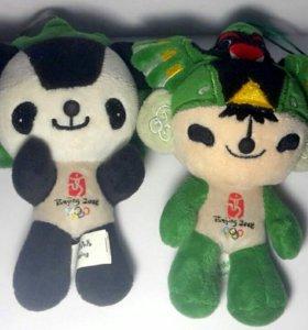 Символы-игрушки олимпиады Пекина 2008