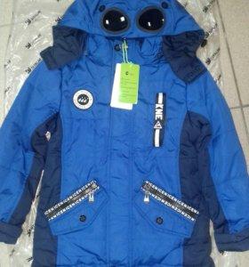 Куртка на мальчика новая, весна, размеры 98-116