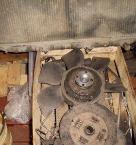 Вентилятор +диск сцепления 2L