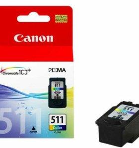 Новый картридж Canon CL-511
