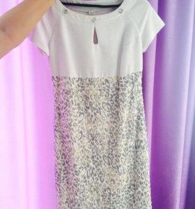 Комплект.Платье+пиджак🌸