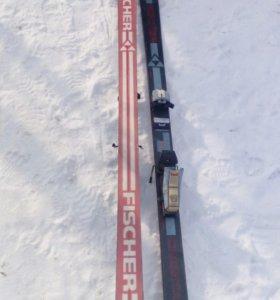 Горнолыжные лыжи fischer