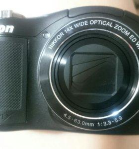 Фотоаппарат Никон.coolpix L610