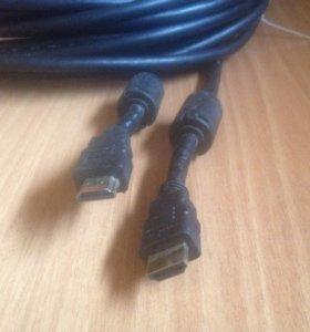Кабель HDMI с фильтром б/у 20м