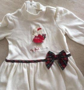 Платье и пинетки Chicco