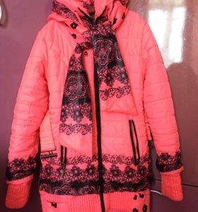 Курточка весна-осень для девочки