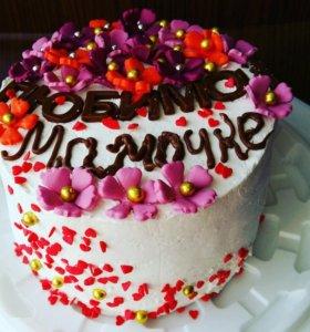 Мини-торты и пирожные