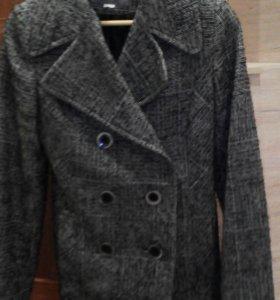 Шерстяное пальто- пиджак