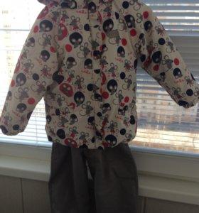 Детский зимний костюм с 2-мя штанами REIKE