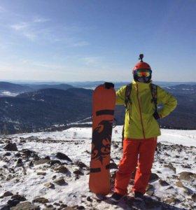 Сноубордический костюм
