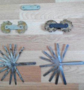 Набор щупов радиусомер
