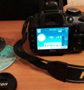 Фотоаппарат Nikon D3100 kit.