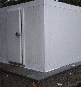 Холодильные камеры промышленного типа