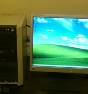 Продам заводской системный блок Fujitsu P300
