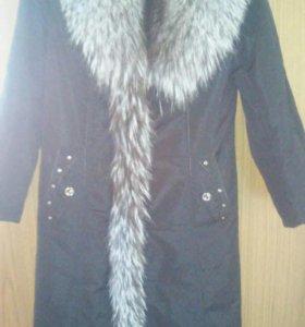 пальто зима весна .размер 42-44