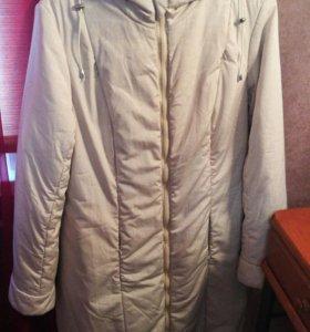 Демисезонное пальто 3в1