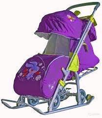 Санки-коляска Ника-7