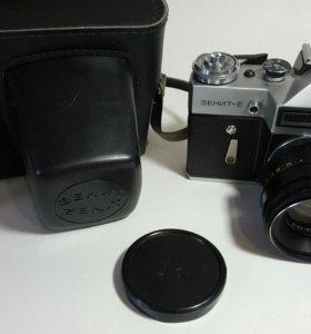 Фотоаппарат Зенит Е с Гелиос 44-2