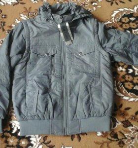 Новая куртка (желетка)