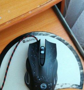 Игровая мышка с подсветкой