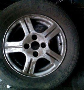 Колеса комплект 4 шт на литых дисках