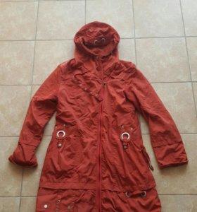 пальто плащ на весну осень 50-52