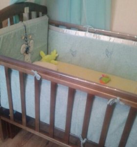 Боковушки для кроватки подушечка в подарок
