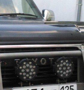 Диодная фара (LED) 1диод=3W диодная лампа 51w