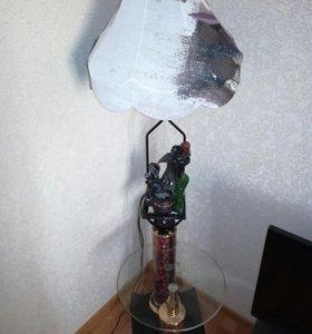 Торшер с фонтаном