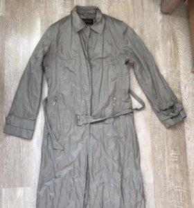 Тренч плащ легкое пальто 44 размер
