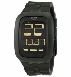 Часы Swatch Black Bump